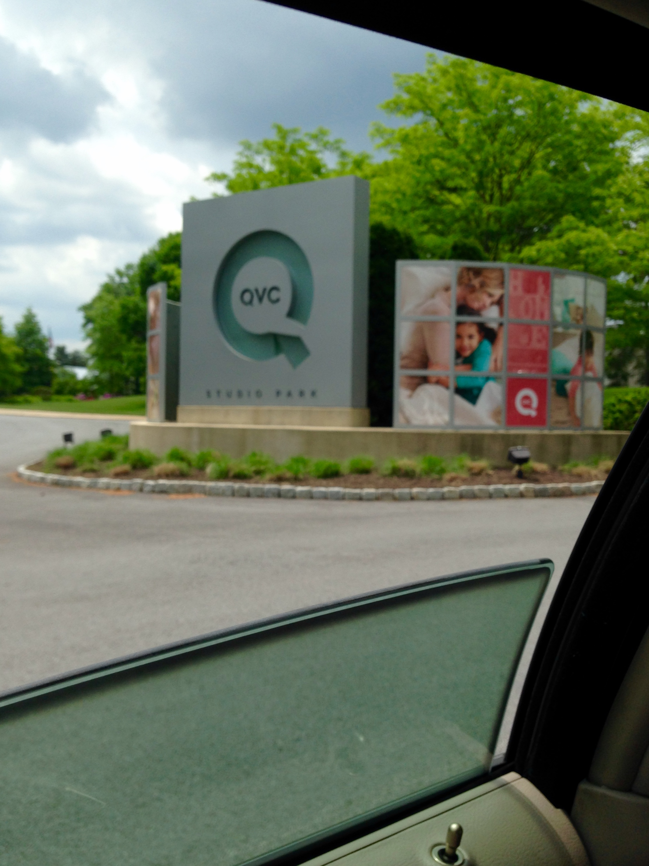 First trip to QVC, 5/18/15.